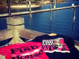 New #fishHousePensacola #tshirts #tyedye #fishheadred