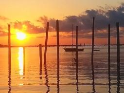 Happy Thursday!  #sunrise #fishhousepensacola #nofilter #pensacola #upsideofflorida #upsideofpensacola #downtownpensacola #sunriseporn #sunrises