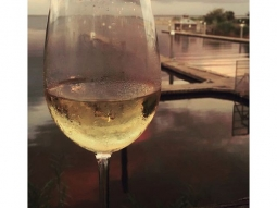 Wine down with us! Thank you @annie_coutu for the photo! Share your #fishhousepensacola pics with us!  #wine #Pensacolabay #downtownpensacola #upsideofflorida #visitpensacola #lovefl