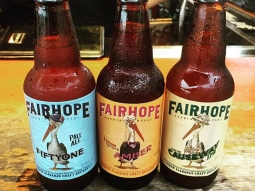 Tonight's ABC class is featuring beers from @fairhopebrewing company! Atlas Beverage Class is the first Thursday of every month on The Deck! Next class on November 5th is featuring flavored vodkas! Email Bryant@goodgrits.com to save your spot!  #fishhousepensacola #pensacola #beer #beverageclass #fairhopebrewingcompany