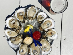 Come see us at atlas tonight! Your first dozen raw oysters only 25 cents each! $2 domestic draft: Bud Light, Michelob Ultra, Yuengling, and Fish Head Red! #FishhousePensacola #downtownpensacola #pensagram