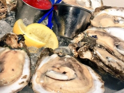 Oysters are always a good idea. It's oyster night at Atlas! Yours first dozen only 25 cents each! ?? #oyster #rawoysters #downtownpensacola