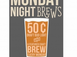 You made it though Monday, celebrate with a cold beer on the deck!