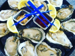 Come hang out with us tonight! 50 cent beers on The Deck and Oyster Night at Atlas (first dozen raw oysters for only 25 cents each)!!!