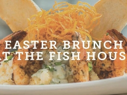 Easter Brunch 11:00 a.m. until 3:00 p.m.! We will be open and serving Easter brunch on Sunday, April 16, from 11:00 a.m. until 3:00 p.m.  We will be serving from our standard brunch menu, which features a selection of starters, salads, seafood and sandwiches as well as four versions of Eggs Benedict, our world-famous Grits à Ya Ya, and brunch favorites; Cinnamon Raisin French Toast, Classic Monte Cristo and Jack Daniel's Chicken and Waffles. As always, we will be offering bottomless champagne and mimosas for $5 and Bloody Marys for $2.  In addition, Chef de Cuisine Jason Hughes has created a special  Easter brunch and dinner feature.  Brunch Feature: Smothered Lamb Boudin Benedict with griddled, house-made lamb boudin cakes, toasted French bread, Cajun white beans with braised ham, soft poached eggs, stone-ground pepper jack grits, wilted spinach and classic hollandaise sauce.  Dinner Feature: Seared wahoo filet stacked with crispy lamb boudin cakes over stone-ground pepper jack grits. Served with braised white beans and sautéed kale (from Jeffs corner), and finished with Creole remoulade.