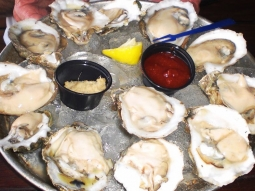 Happy Monday! Oyster Night at Atlas every Monday! Get your first dozen raw oysters for 25 cents each!!!